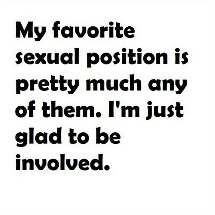 favorite sexual position
