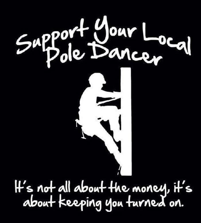 support local pole dancers