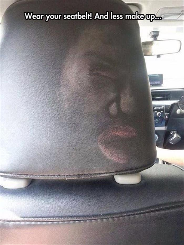 this is why you wear a seat belt