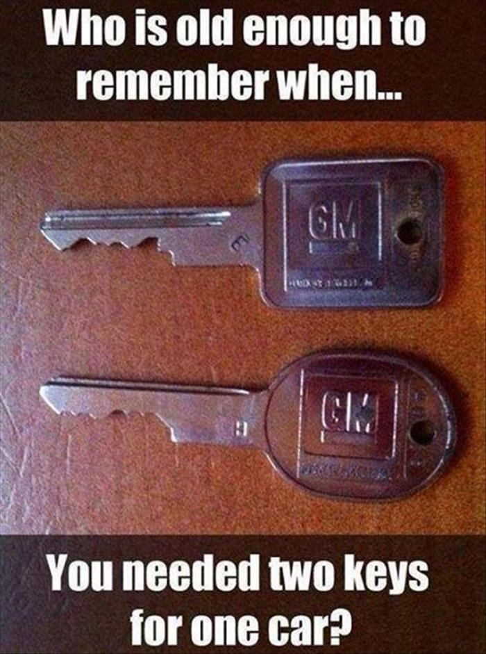 two keys for one car