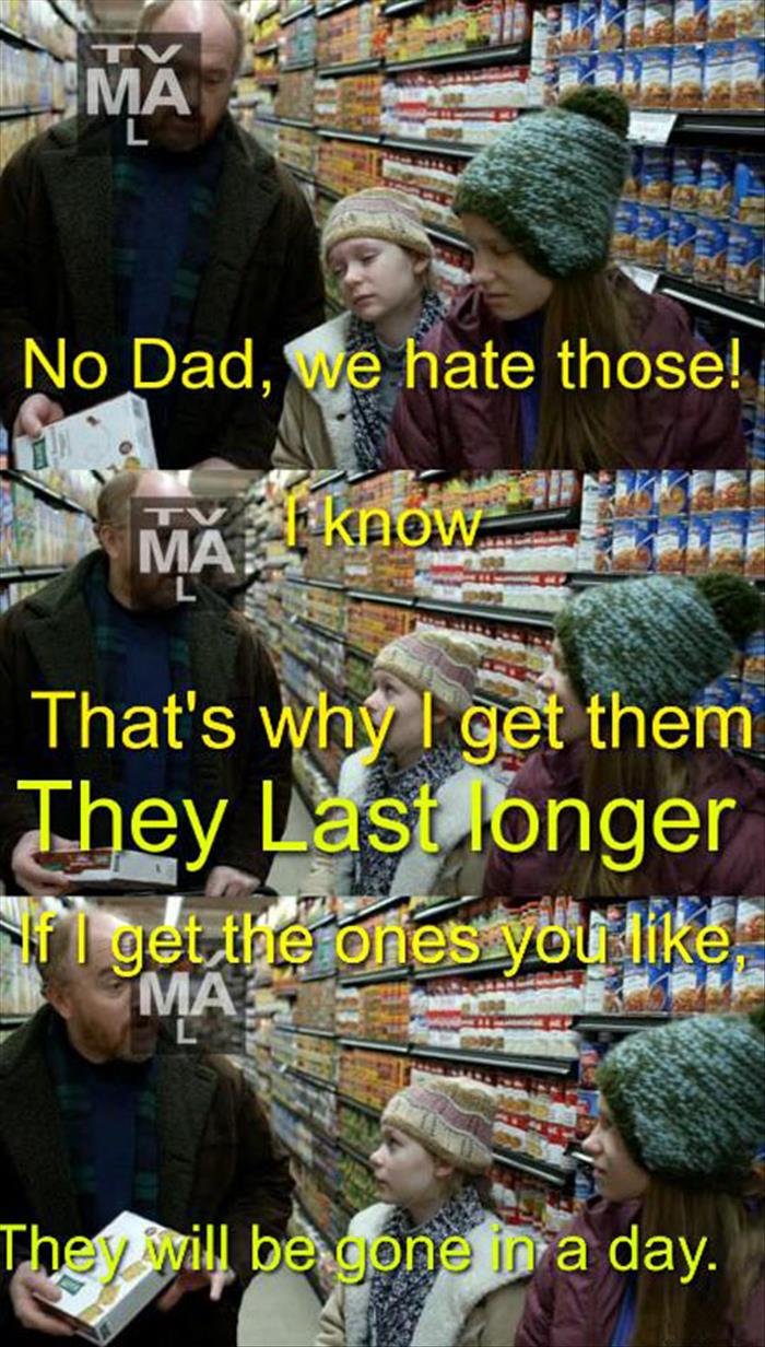 we hate those dad