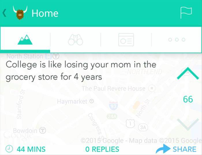 what college is like