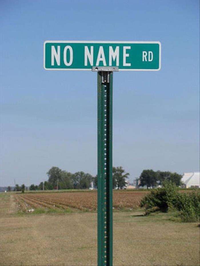 Funny Street Sign Names It's All Fun And Games...