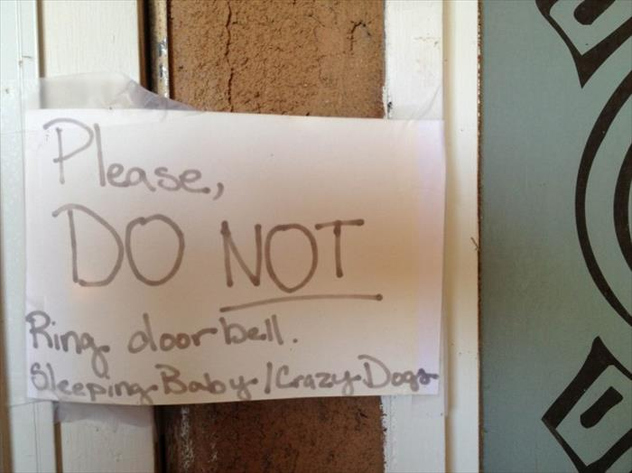 funny notes (11) & 15 Funny Front Door Notes Every Parent Can Relate To