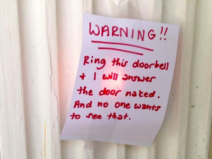 funny notes (9) & 15 Funny Front Door Notes Every Parent Can Relate To