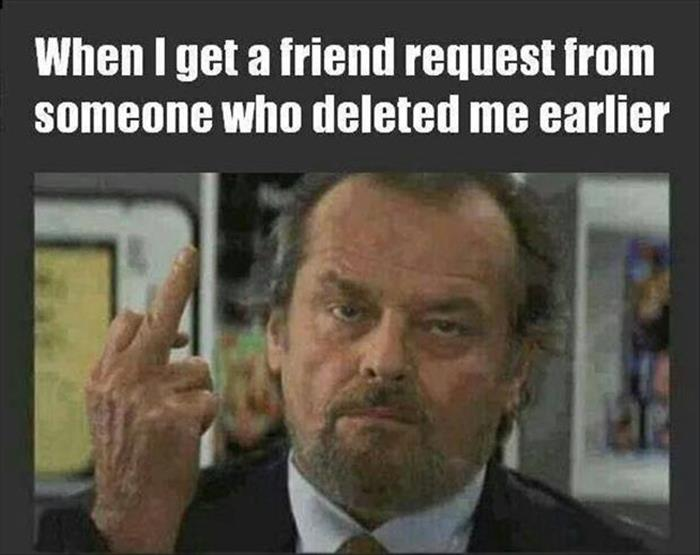 get a friend request