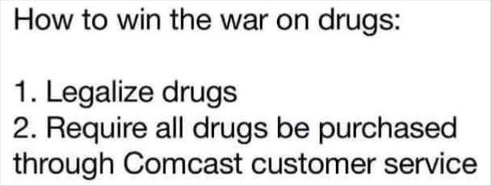how to win the war on drugs