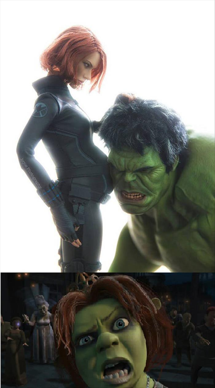if black widow and the hulk had a baby