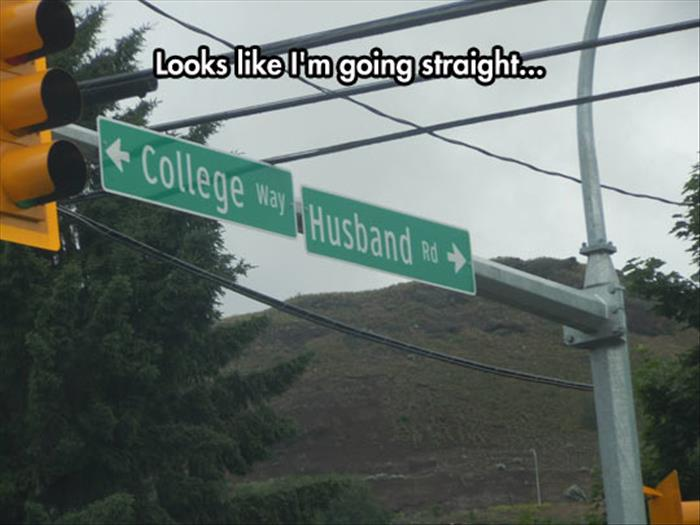 let's go straight