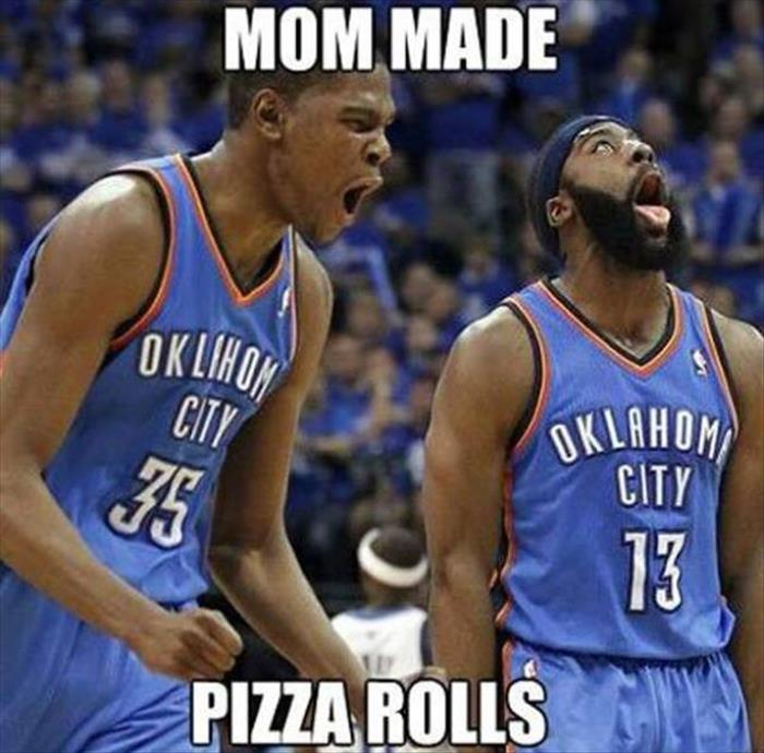 mom made pizza rolls