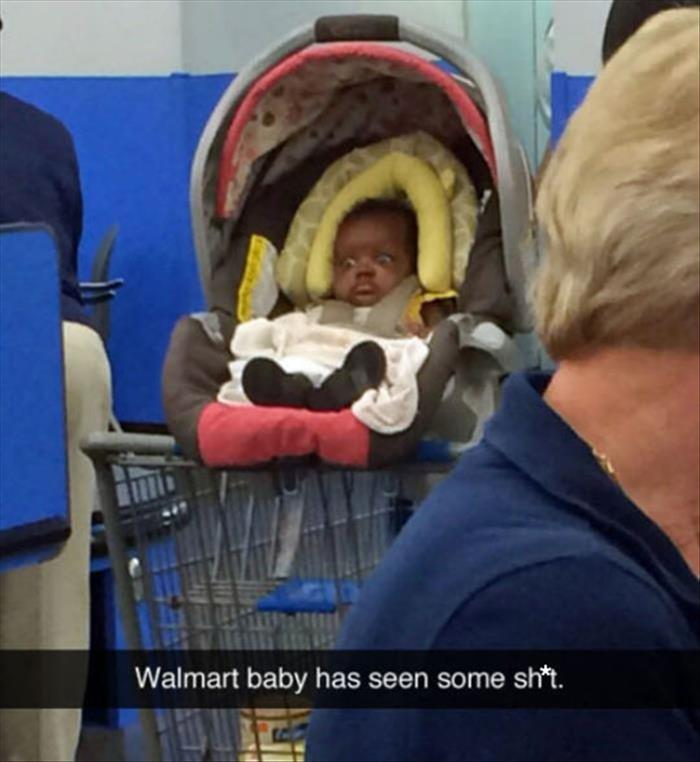 the poor wal mart baby