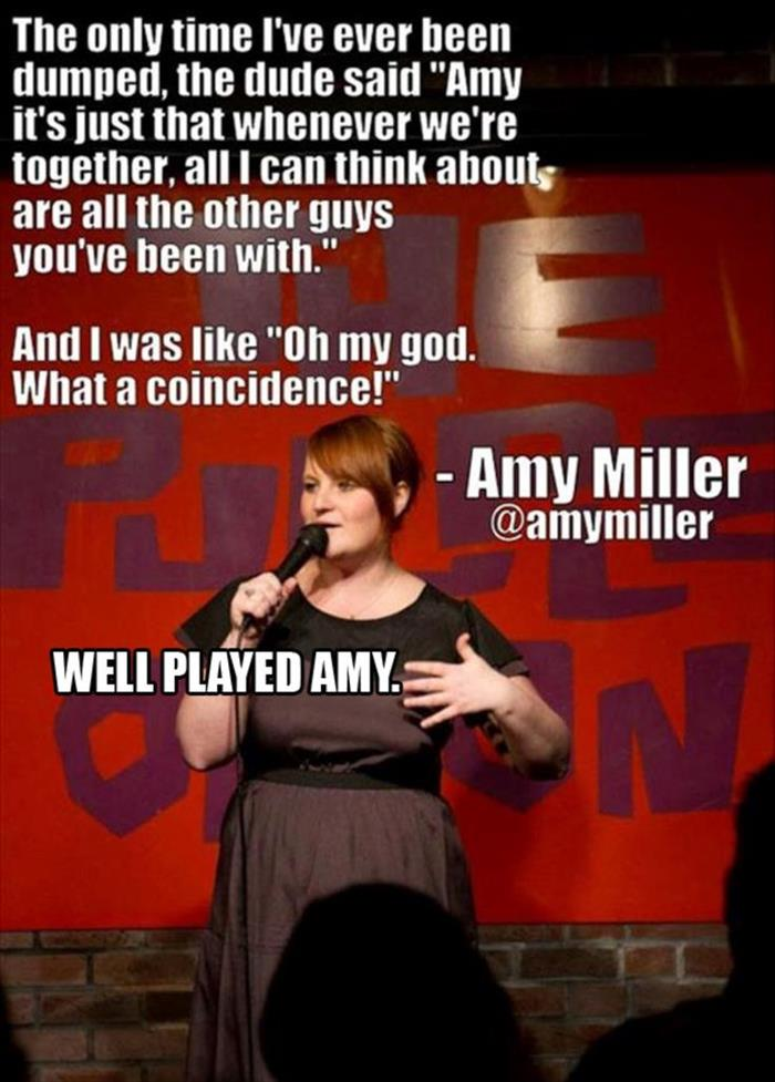 well played Amy