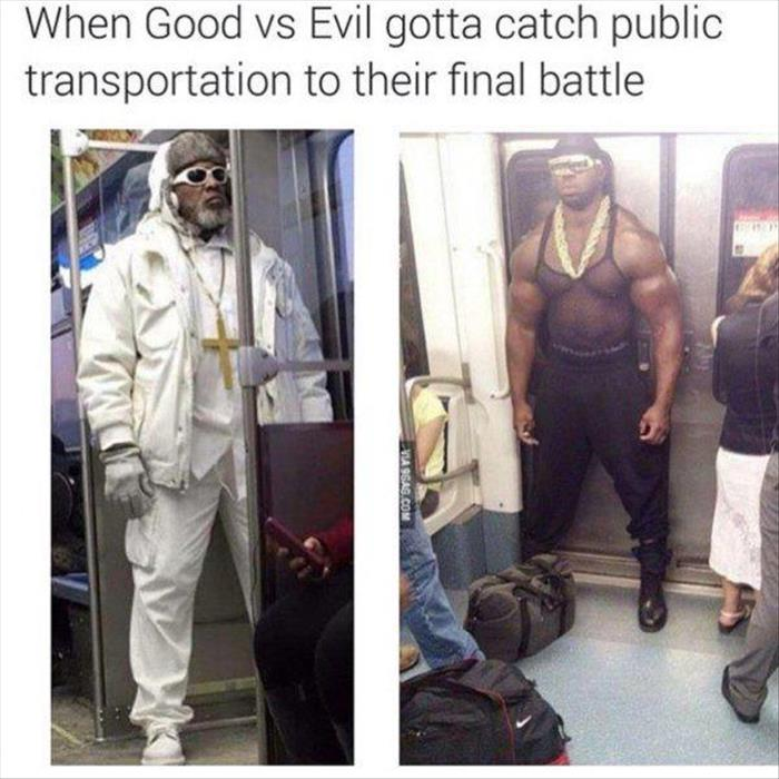 when good vs evil