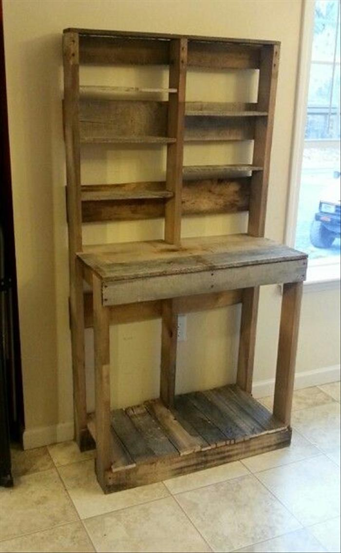 21 Amazing Shelf Rack Ideas For Your Home: Amazing Uses For Old Pallets