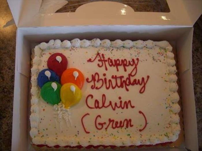 """a birthday gone bad When you're late with sending your best wishes for someone's birthday, you   have no doubt—happy belated birthday is the wrong way of doing it  the go-to  late birthday greeting contains the phrase """"happy birthday"""" and the word belated."""