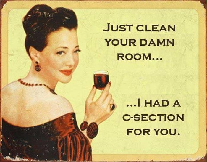 just clean your room