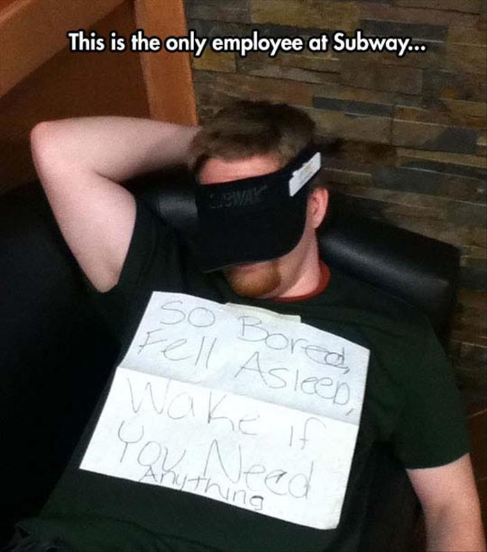 subway employee