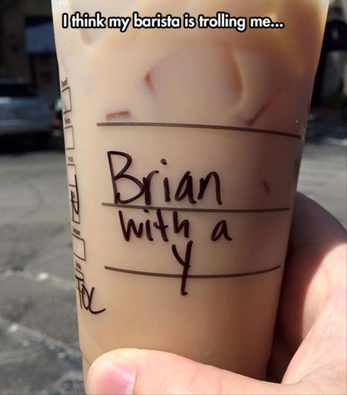 thanks starbucks