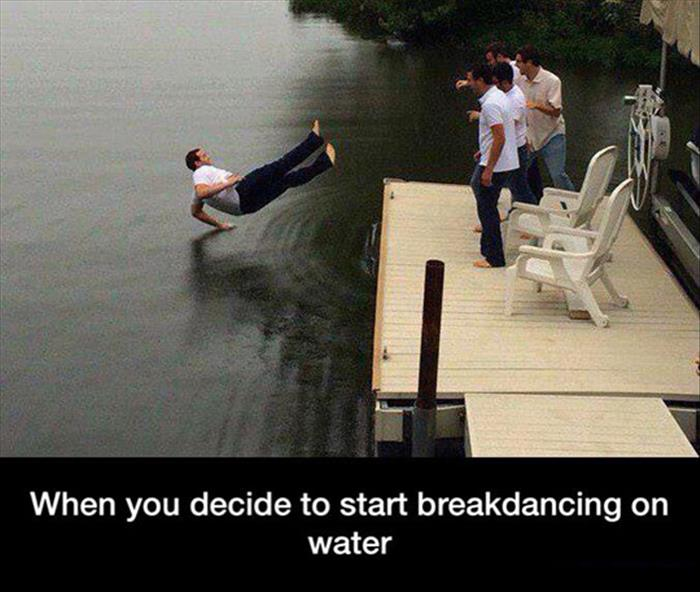 when you decide to breakdance