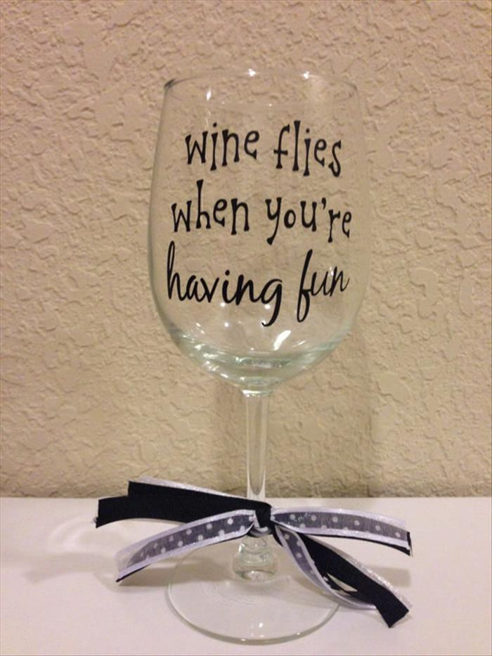 When You Ve Had A Rough Day These Wine Glasses Understand