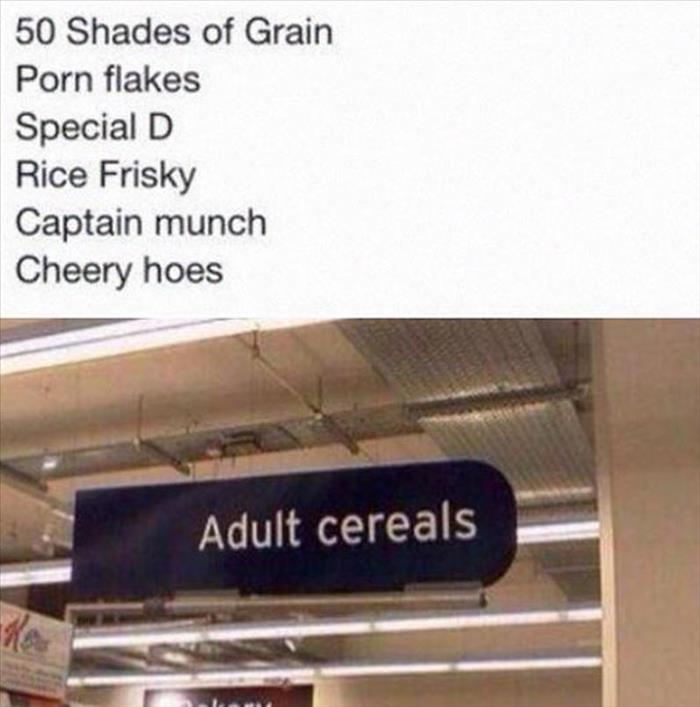 funny adult cereal