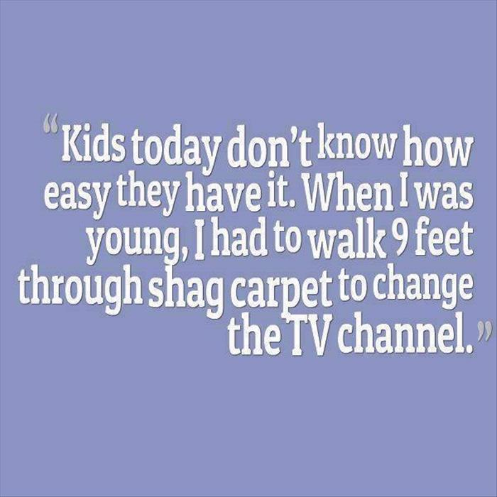kids just don't know
