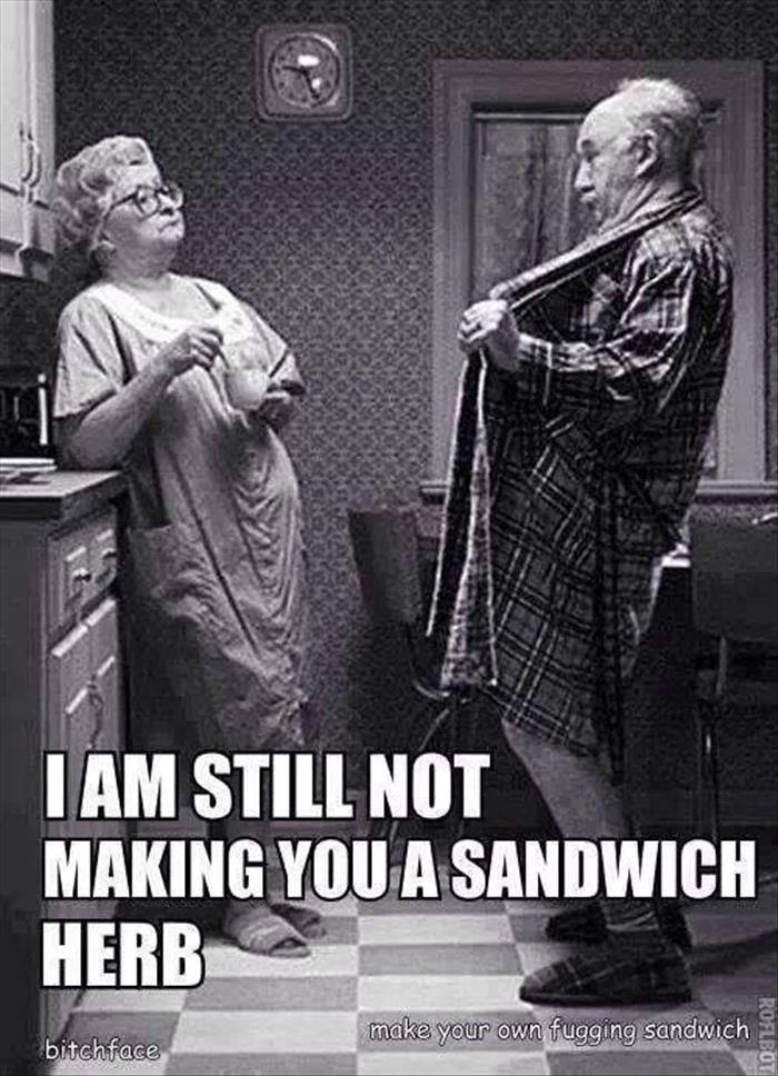 still not making you a sandwhich