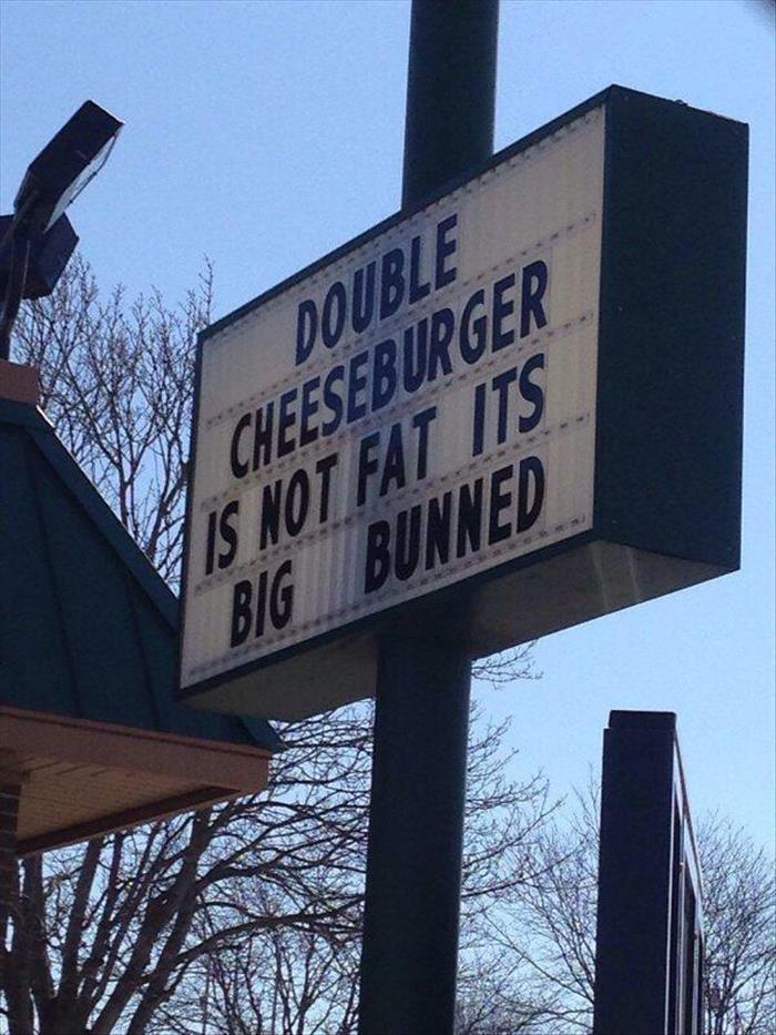 the double cheeseburger
