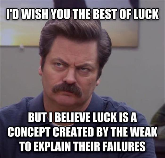 the funny ron swanson