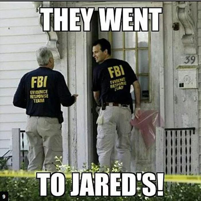 they went to jareds