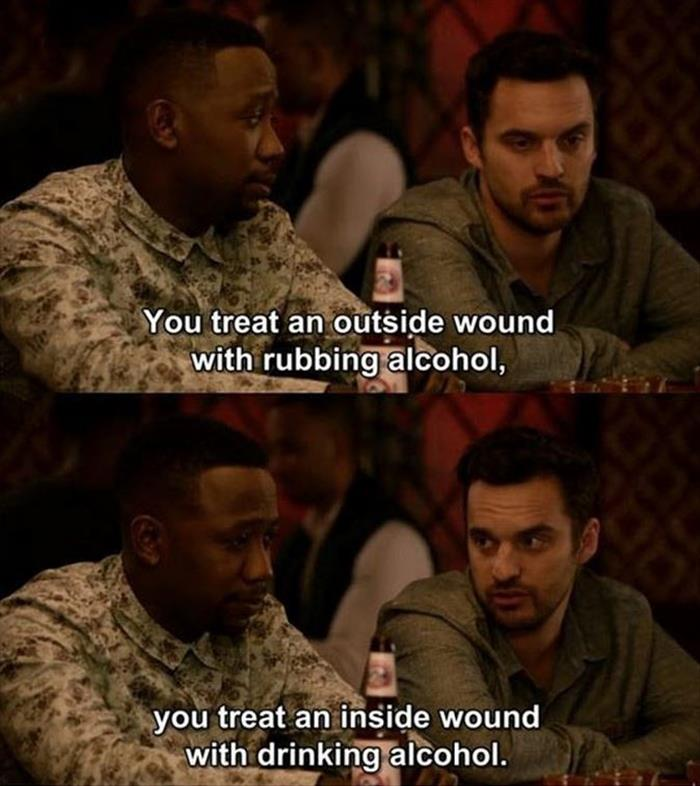 this is how you treat wounds