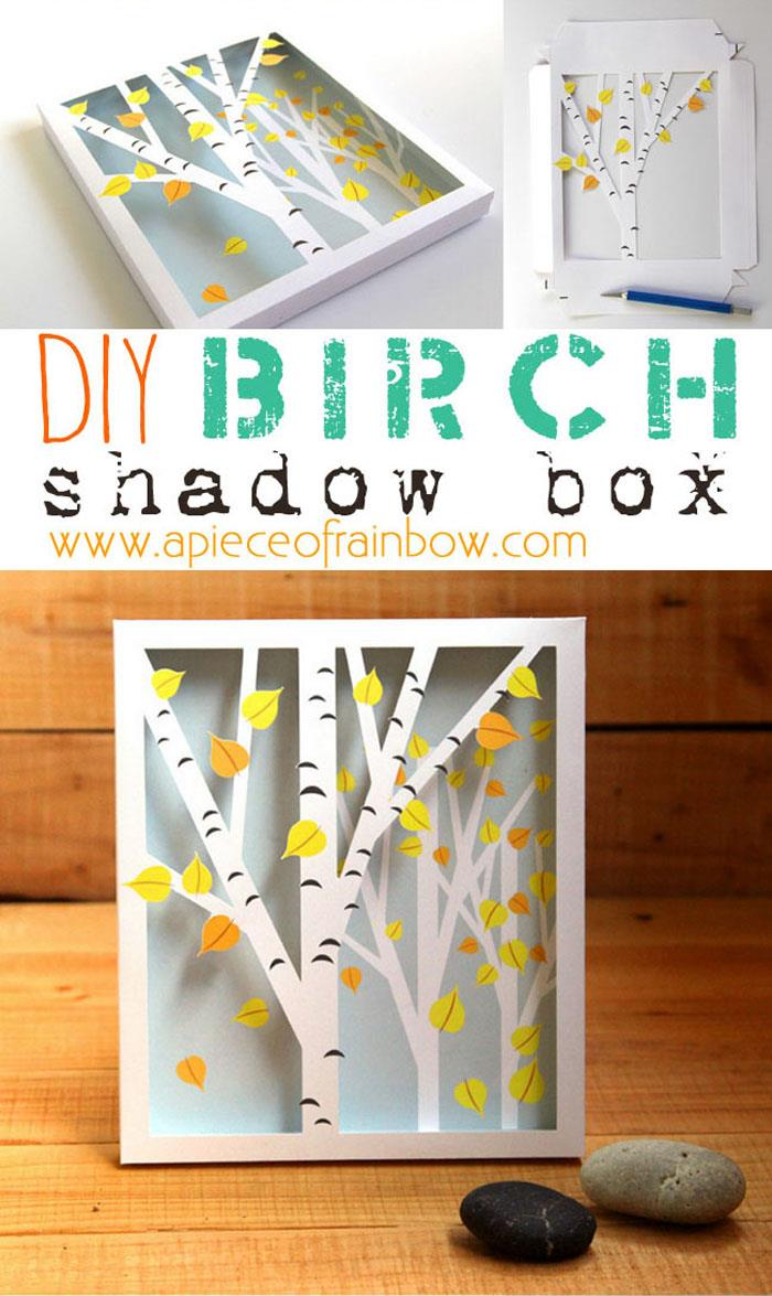 BIRCH SHADOW BOX