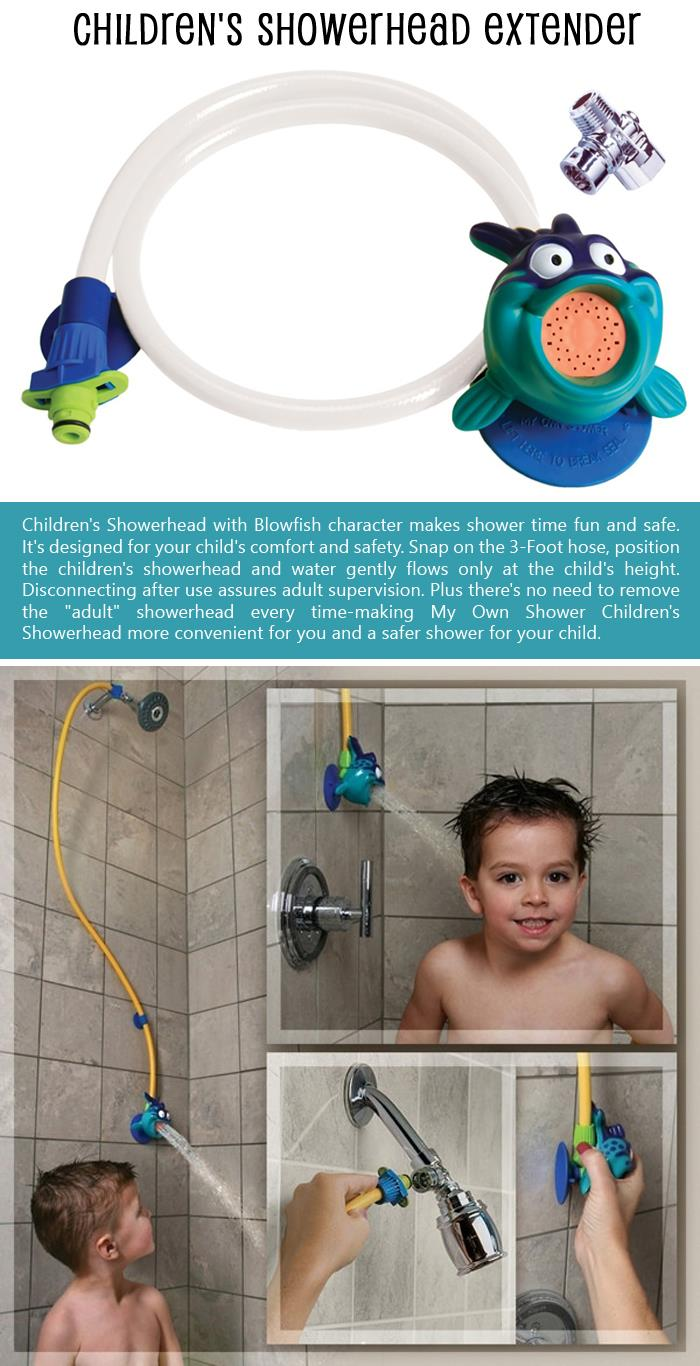 Children's Showerhead Extender