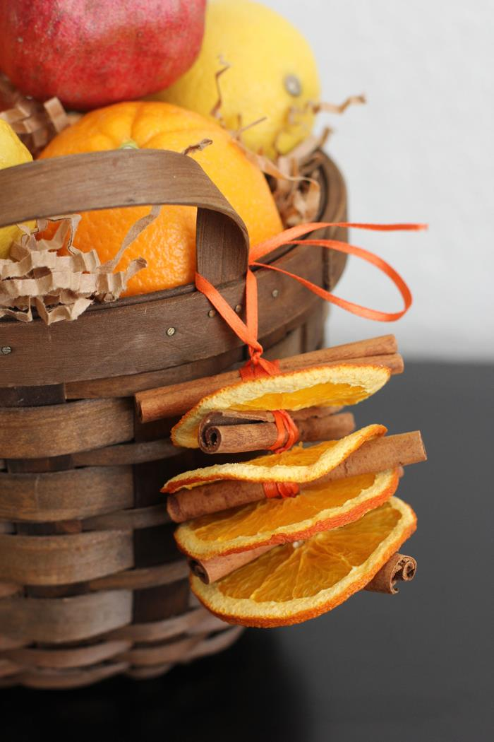 Dried Orange and Cinnamon Ornaments