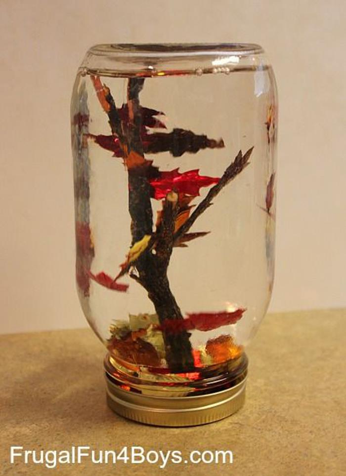 Fall Tree Snow Globes