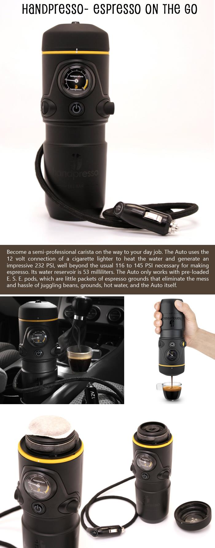 Handpresso- Espresso On The Go