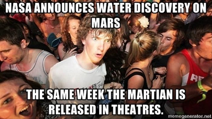 nasa announces water on mars