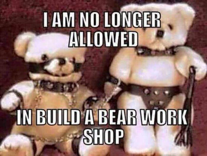 no longer allowed to build a bear