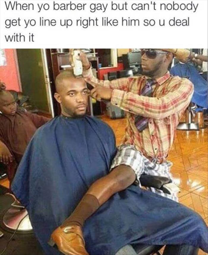 the funny barber