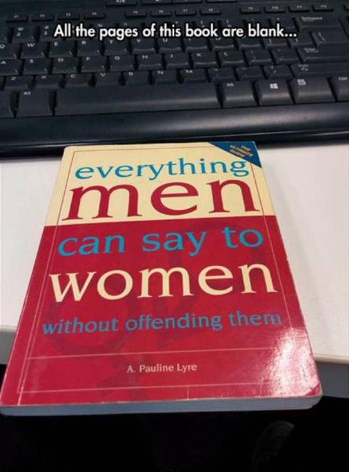 what men can say to women without offending them