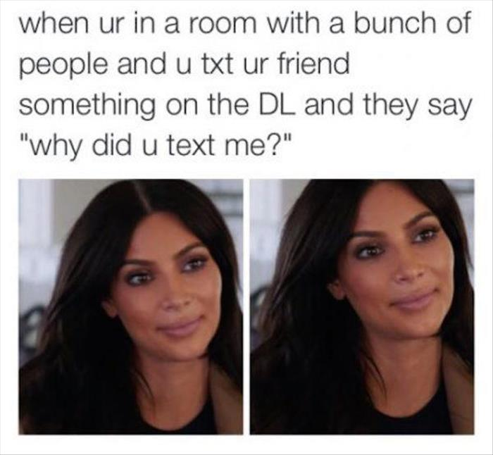 why did you text me