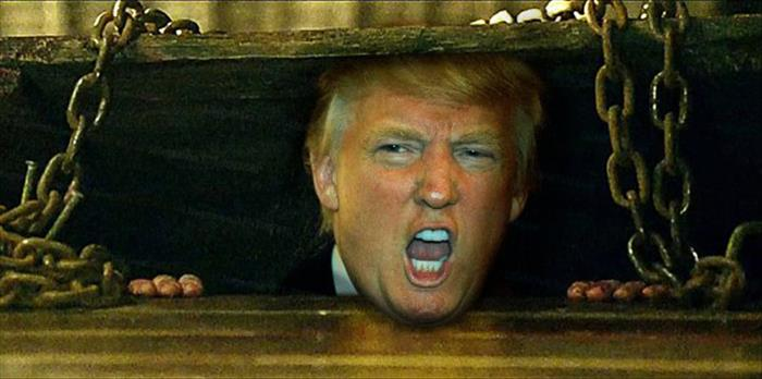 Donald Trump Photoshopped Into Horror Movie Characters Is ...