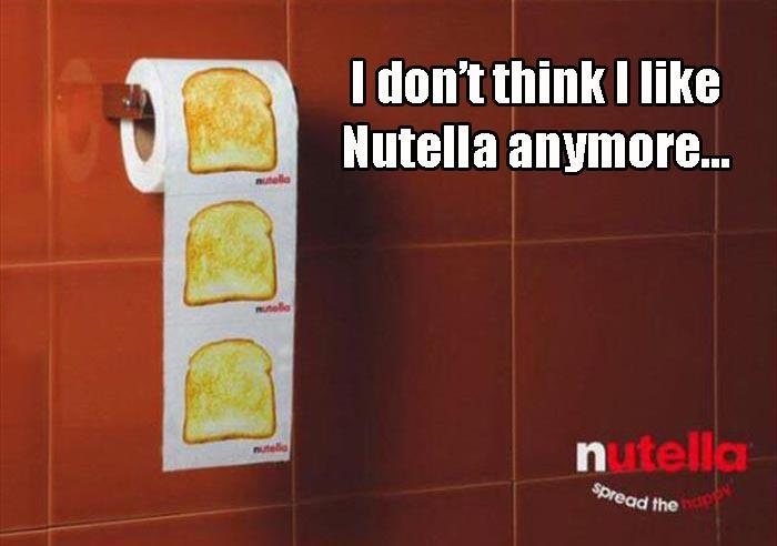 I don't think I like Nutella anymore