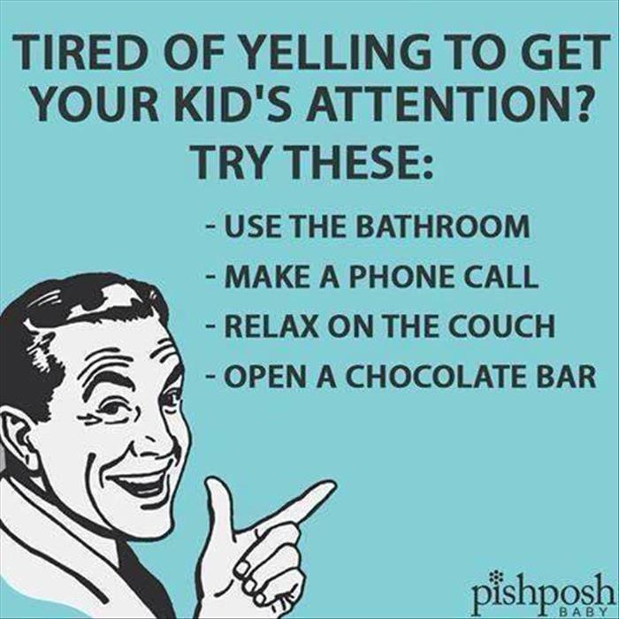 how to get your kids attention