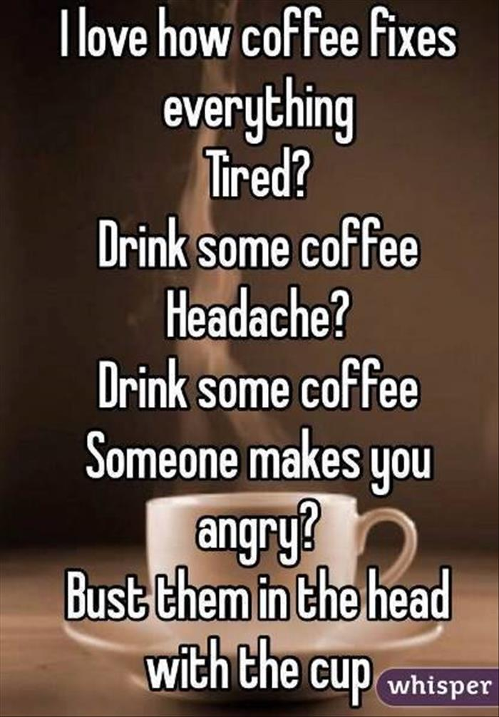people and coffee