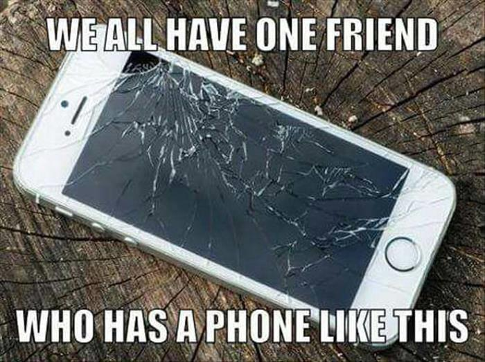 we all have one friend