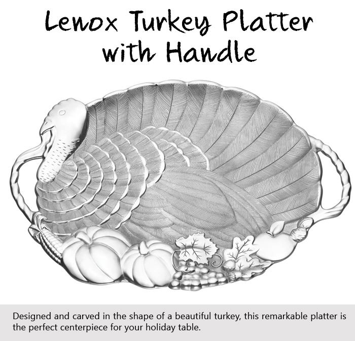 Lenox Turkey Platter with Handle