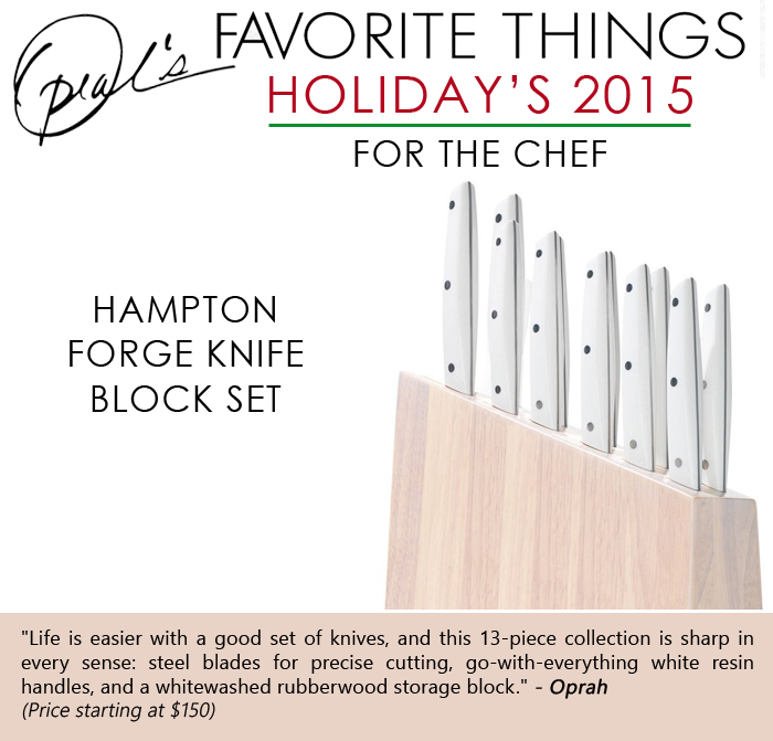 Oprah Picks Her Favorite Gifts For The Chef In Your Family