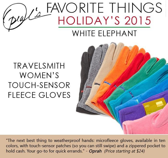 Oprah 39 S Favorite White Elephant Gifts This Season 14 Pics