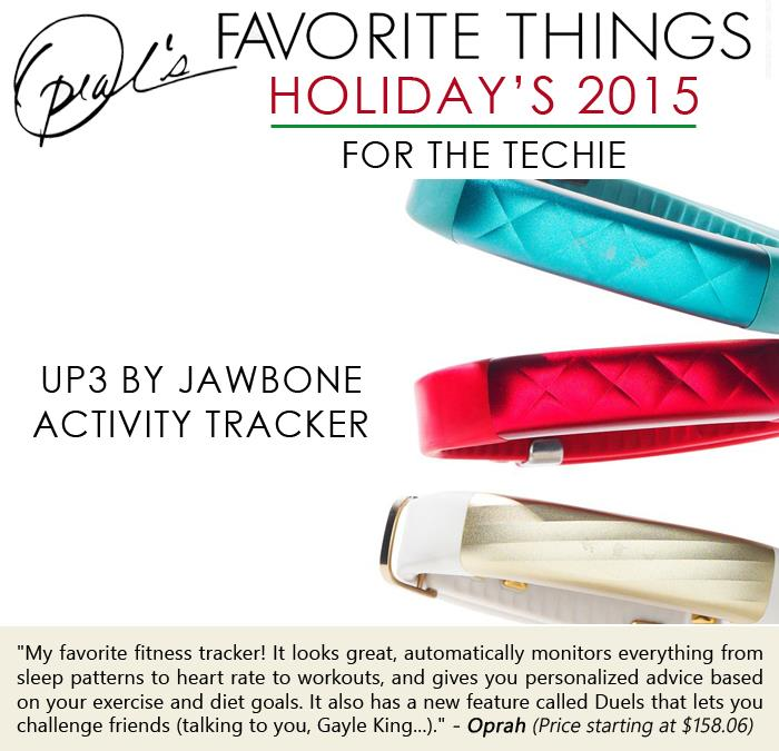 Oprah's Favorite Things- UP3 by Jawbone Activity tracker